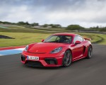 2020 Porsche 718 Cayman GT4 (Color: Guards Red) Front Three-Quarter Wallpapers 150x120 (17)