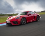 2020 Porsche 718 Cayman GT4 (Color: Guards Red) Front Three-Quarter Wallpapers 150x120 (19)