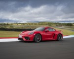 2020 Porsche 718 Cayman GT4 (Color: Guards Red) Front Three-Quarter Wallpapers 150x120 (21)