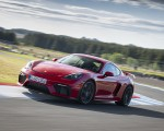 2020 Porsche 718 Cayman GT4 (Color: Guards Red) Front Three-Quarter Wallpapers 150x120 (3)