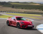 2020 Porsche 718 Cayman GT4 (Color: Guards Red) Front Wallpapers 150x120 (24)