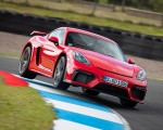 2020 Porsche 718 Cayman GT4 (Color: Guards Red) Front Wallpapers 150x120 (1)