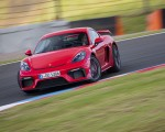 2020 Porsche 718 Cayman GT4 (Color: Guards Red) Front Wallpapers 150x120 (4)