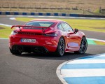 2020 Porsche 718 Cayman GT4 (Color: Guards Red) Rear Three-Quarter Wallpapers 150x120 (28)