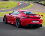 2020 Porsche 718 Cayman GT4 (Color: Guards Red) Rear Three-Quarter Wallpapers 150x120 (25)