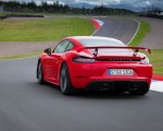 2020 Porsche 718 Cayman GT4 (Color: Guards Red) Rear Three-Quarter Wallpapers 150x120 (27)