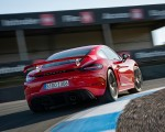2020 Porsche 718 Cayman GT4 (Color: Guards Red) Rear Wallpapers 150x120 (8)