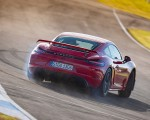 2020 Porsche 718 Cayman GT4 (Color: Guards Red) Rear Wallpapers 150x120 (10)