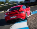 2020 Porsche 718 Cayman GT4 (Color: Guards Red) Rear Wallpapers 150x120 (13)