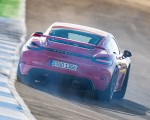2020 Porsche 718 Cayman GT4 (Color: Guards Red) Rear Wallpapers 150x120 (15)