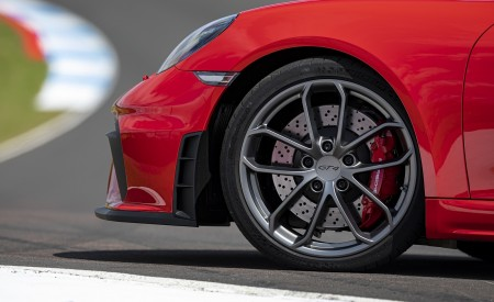 2020 Porsche 718 Cayman GT4 (Color: Guards Red) Wheel Wallpapers 450x275 (38)