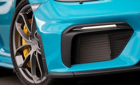 2020 Porsche 718 Cayman GT4 (Color: Miami Blue) Detail Wallpapers 450x275 (121)