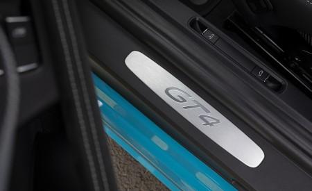 2020 Porsche 718 Cayman GT4 (Color: Miami Blue) Door Sill Wallpapers 450x275 (123)