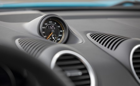 2020 Porsche 718 Cayman GT4 (Color: Miami Blue) Interior Detail Wallpapers 450x275 (130)
