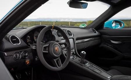 2020 Porsche 718 Cayman GT4 (Color: Miami Blue) Interior Wallpapers 450x275 (126)