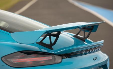 2020 Porsche 718 Cayman GT4 (Color: Miami Blue) Spoiler Wallpapers 450x275 (115)