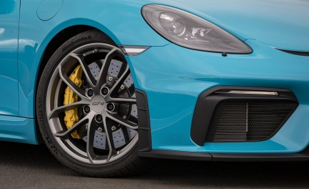 2020 Porsche 718 Cayman GT4 (Color: Miami Blue) Wheel Wallpapers 450x275 (112)