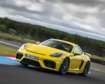2020 Porsche 718 Cayman GT4 (Color: Racing Yellow) Front Three-Quarter Wallpapers 150x120 (48)