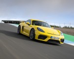 2020 Porsche 718 Cayman GT4 (Color: Racing Yellow) Front Three-Quarter Wallpapers 150x120 (49)