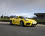 2020 Porsche 718 Cayman GT4 (Color: Racing Yellow) Front Three-Quarter Wallpapers 150x120 (50)