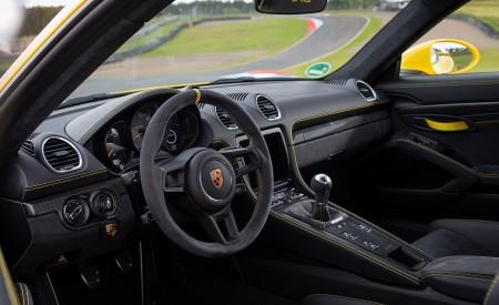 2020 Porsche 718 Cayman GT4 (Color: Racing Yellow) Interior Wallpapers 450x275 (83)