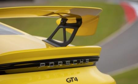 2020 Porsche 718 Cayman GT4 (Color: Racing Yellow) Spoiler Wallpapers 450x275 (75)