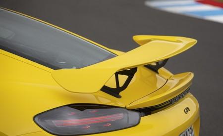 2020 Porsche 718 Cayman GT4 (Color: Racing Yellow) Spoiler Wallpapers 450x275 (74)