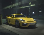 2020 Porsche 718 Cayman GT4 Front Three-Quarter Wallpapers 150x120 (2)