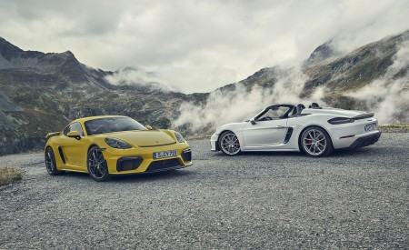 2020 Porsche 718 Cayman GT4 Wallpapers HD