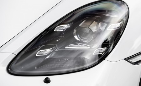 2020 Porsche 718 Spyder (Color: Carrara White Metallic) Headlight Wallpapers 450x275 (145)