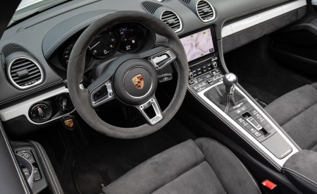 2020 Porsche 718 Spyder (Color: Carrara White Metallic) Interior Wallpapers 450x275 (152)