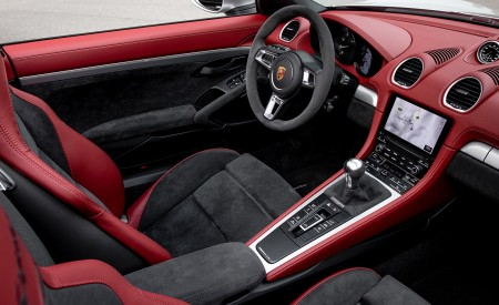 2020 Porsche 718 Spyder (Color: GT Silver Metallic) Interior Wallpapers 450x275 (237)