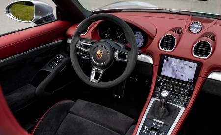 2020 Porsche 718 Spyder (Color: GT Silver Metallic) Interior Wallpapers 450x275 (236)