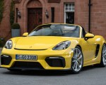 2020 Porsche 718 Spyder (Color: Racing Yellow) Front Three-Quarter Wallpapers 150x120 (48)