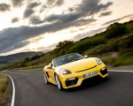 2020 Porsche 718 Spyder (Color: Racing Yellow) Front Three-Quarter Wallpapers 150x120 (22)