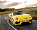 2020 Porsche 718 Spyder (Color: Racing Yellow) Front Wallpapers 150x120 (33)