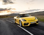2020 Porsche 718 Spyder (Color: Racing Yellow) Front Wallpapers 150x120 (23)
