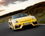 2020 Porsche 718 Spyder (Color: Racing Yellow) Front Wallpapers 150x120 (34)