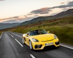 2020 Porsche 718 Spyder (Color: Racing Yellow) Front Wallpapers 150x120 (24)