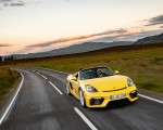 2020 Porsche 718 Spyder (Color: Racing Yellow) Front Wallpapers 150x120 (35)