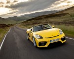 2020 Porsche 718 Spyder (Color: Racing Yellow) Front Wallpapers 150x120 (28)