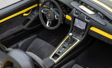 2020 Porsche 718 Spyder (Color: Racing Yellow) Interior Wallpapers 450x275 (77)