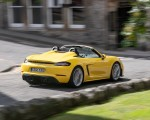 2020 Porsche 718 Spyder (Color: Racing Yellow) Rear Three-Quarter Wallpapers 150x120 (38)