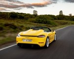 2020 Porsche 718 Spyder (Color: Racing Yellow) Rear Wallpapers 150x120 (29)