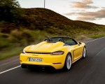 2020 Porsche 718 Spyder (Color: Racing Yellow) Rear Wallpapers 150x120 (30)