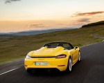 2020 Porsche 718 Spyder (Color: Racing Yellow) Rear Wallpapers 150x120 (31)