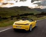 2020 Porsche 718 Spyder (Color: Racing Yellow) Rear Wallpapers 150x120 (32)