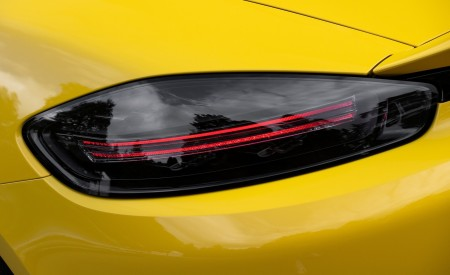 2020 Porsche 718 Spyder (Color: Racing Yellow) Tail Light Wallpapers 450x275 (58)