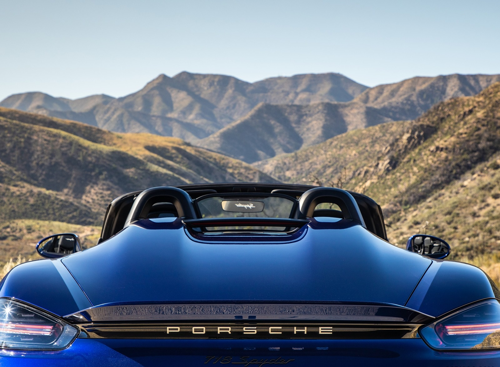 2020 Porsche 718 Spyder Detail Wallpapers (9)