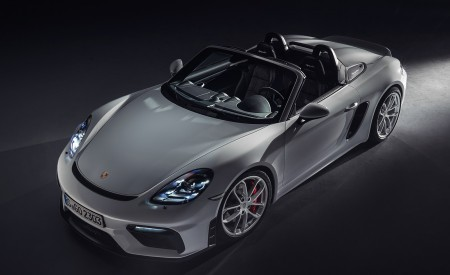 2020 Porsche 718 Spyder Front Three-Quarter Wallpapers 450x275 (258)